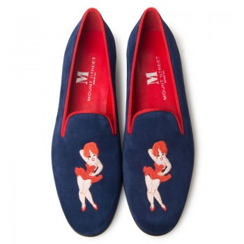 Bespoke Embroidery Slipper