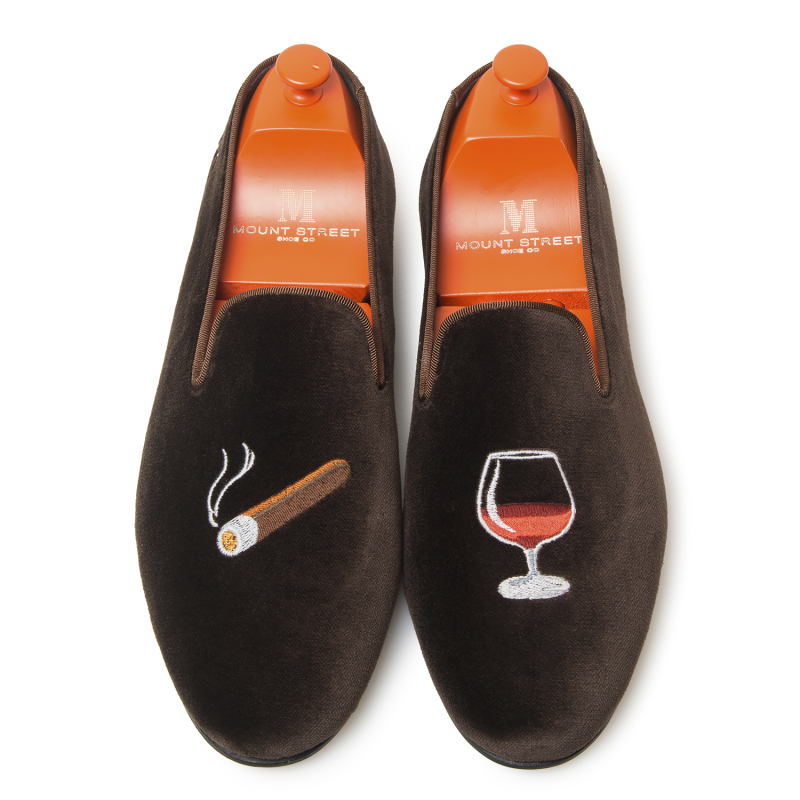 Cigars and Cognac Mark Slipper