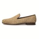 Pure Slipper Herringbone Tweed